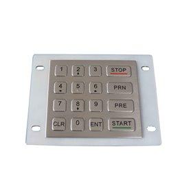 Tastierino numerico industriale in acciaio, 16 tasti, IP65