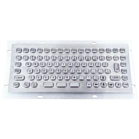 Tastiera industriale compatta in acciaio inossidabile IP 65, 86 tasti