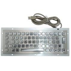 Tastiera industriale in acciaio inossidabile IP 65, 64 tasti
