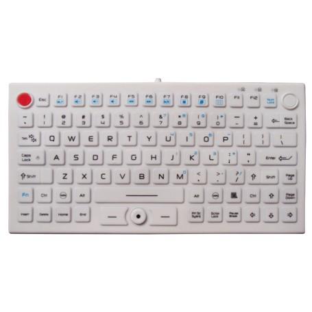 Tastiera silicone IP68, 89 tasti, USB