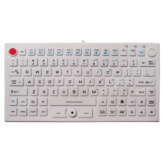 Silicon keyboard, IP68, 89 keys, USB