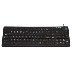 Silicon keyboard, IP68, 110 keys, USB