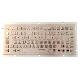Tastiera industriale in acciaio inossidabile IP 65, 86 tasti