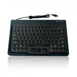 Silicon keyboard, IP68, 87 keys, USB