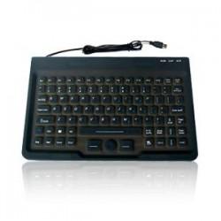 Tastiera silicone IP68, 87 tasti, USB