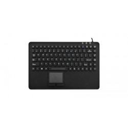 Tastiera silicone IP67, 99 tasti, USB con touchpad