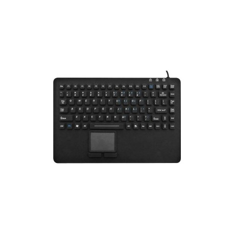 Silicon keyboard, IP67, 99 keys, USB with touchpad