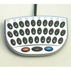 Mini tastiera in plastica, 32 tasti, piccolissime dimensioni