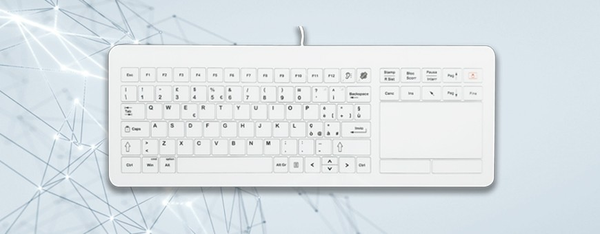 Glass keyboards