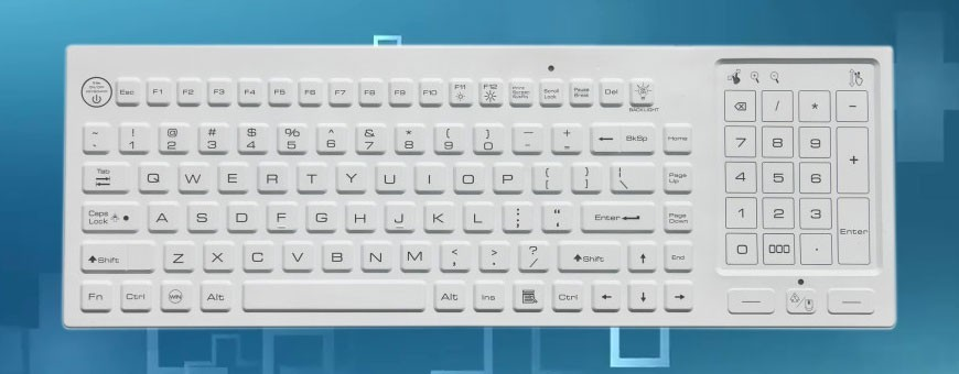 Silicone keyboards