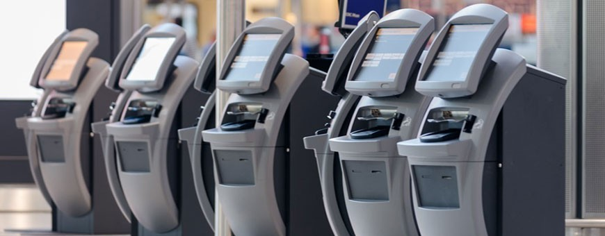 Kiosks and ATM