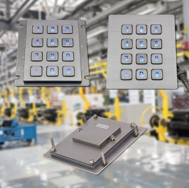How to choose a metal keypad: the 6 KEY factors to identify the best product for your needs