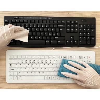 La tastiera del PC: tra gli oggetti più sporchi al mondo. Come igienizzarla in modo semplice, efficace, e in meno di 10 secondi